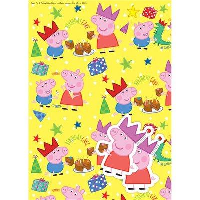 Peppa Pig cadeaupapier
