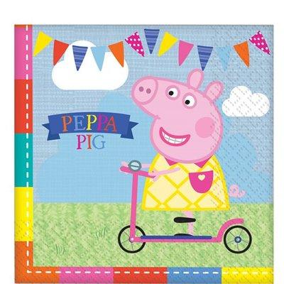 Peppa Pig feest pakket, 8 personen