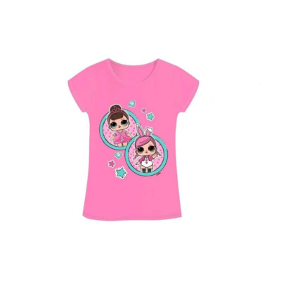 LOL Surprise t-shirt licht roze Fancy