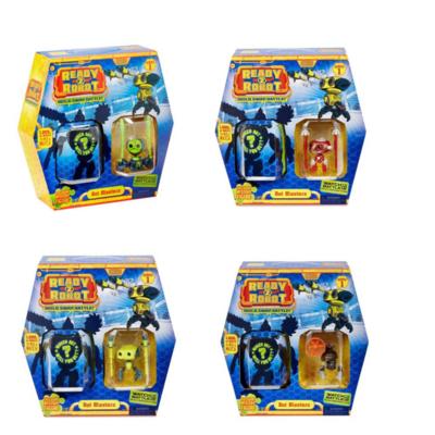 Ready2Robot bot blasters, serie 1, 4er pack