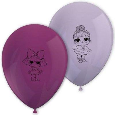 LOL Surprise ballonnen paars/roze