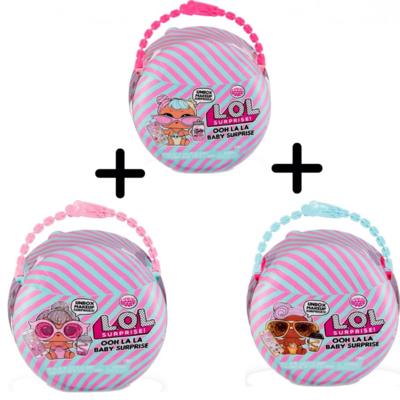 LOL Surprise Ooh La La Baby: 3 verpakkingen