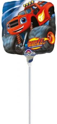 Blaze en de Monsterwielen mini foil ballon