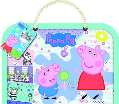 Peppa Pig tekenblok met ondermat