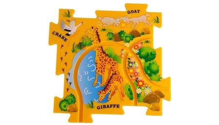 Puzzle Pilot - wegen set met lieveheerstbeestje