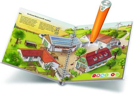 Tiptoi starterset - stift + boek - op de boerderij