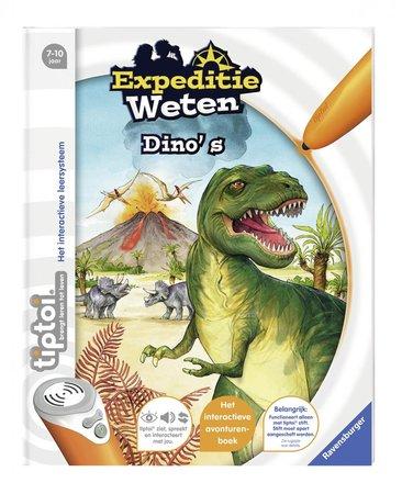 Tiptoi boek - Expeditie weten - Dino's
