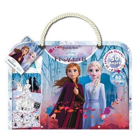 Frozen 2 tekenblok met ondermat