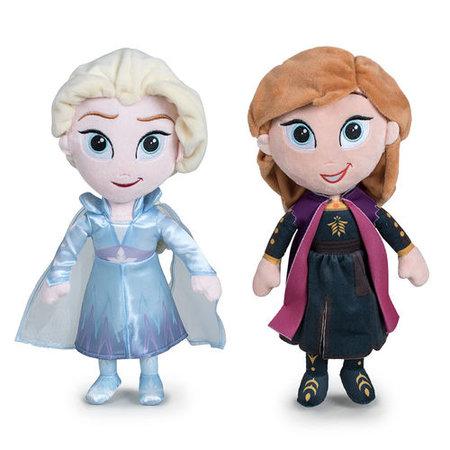 Frozen 2 knuffel - Anna en Elsa- 30 cm