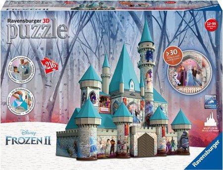 Frozen 2 - 3D puzzel - kasteel