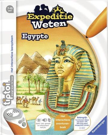 Tiptoi boek - Expeditie weten - Egypte