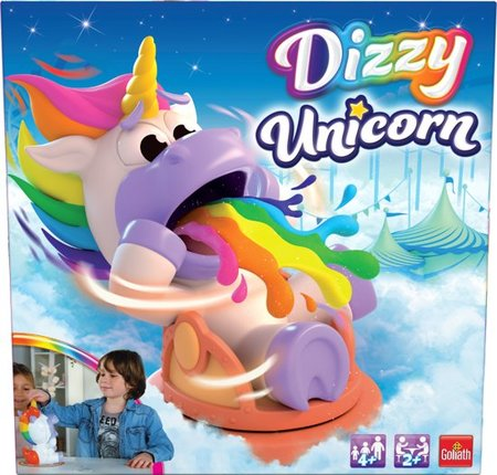 Dizzy Unicorn - verzamel de regenbogen