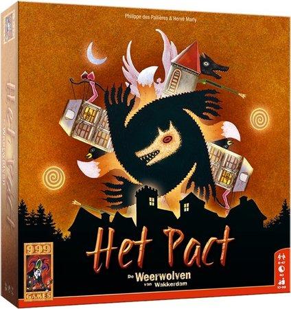 De weerwolven van Wakkerdam - Het pact - kaartspel