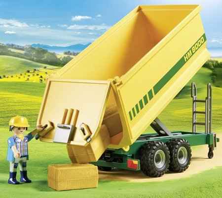 Playmobil Country - Grote tractor met aanhangwagen - 70131