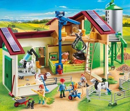 Playmobil Country - Boerderij met silo en dieren - 70132