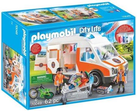 Playmobil City Life - Ambulance en ziekenbroeders- 70049