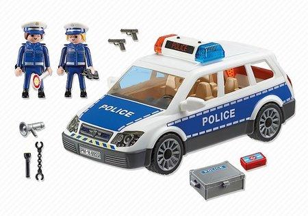 Playmobil City Life - Politiepatrouille met licht en geluid - 6920