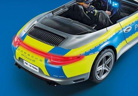 Playmobil City Life - Porsche 911 Carrera 4S Politie wit - 70066