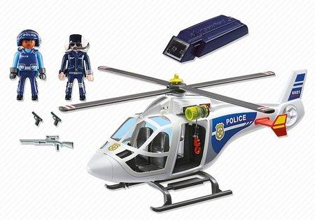 Playmobil City Life - Politiehelikopter met LED-zoeklicht - 6921