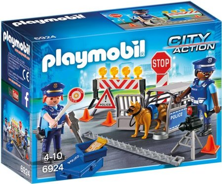 Playmobil City Action - Politiewegversperring - 6924