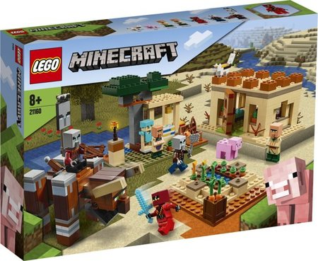 LEGO Minecraft - De Illager Overval - 21160
