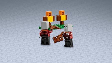 LEGO Minecraft - De Pillager Buitenpost - 21159