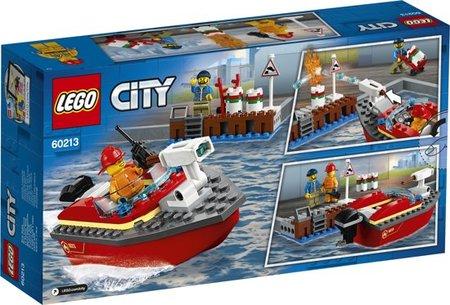 Lego City - Brandweerkazerne en Brand aan de Kade - 60213 + 60215