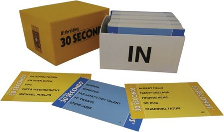 30 seconds + uitbreiding - Bordspel