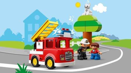 Lego Duplo - Brandweertruck - 10901