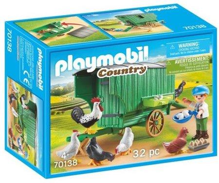 Playmobil Country - Kind met kippenhok - 70138