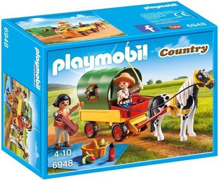 Playmobil Country - Picknick met ponywagen - 6948