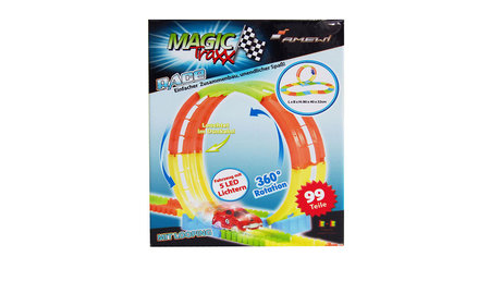 Magic Traxx Looping baan , glow in the dark