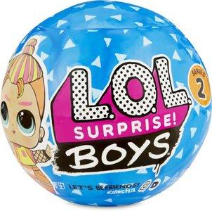 Pak de broer van één van de populaire L.O.L. Surprise!-poppen uit met L.O.L. Surprise! Boys serie 2! Elk personag