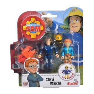 Brandweerman Sam speelfiguren - Sam & Norman