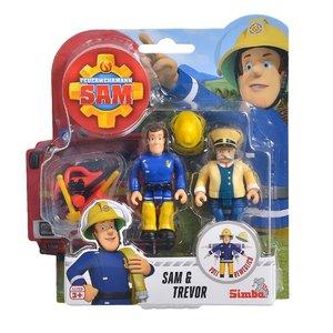 Brandweerman Sam speelfiguren - Sam & Trevor