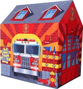 Kinderspeeltent - Brandweer