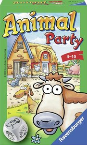 Ravensburger - Animal Party - pocketspel