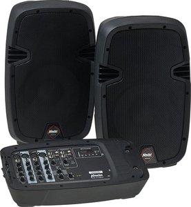 Alecto PAS-210 MIXER en speakerset - Ideaal voor de DJ die veel onderweg is - Zwart