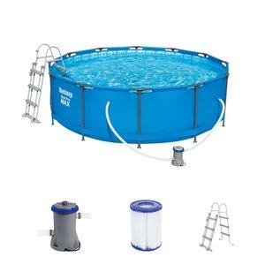 Bestway zwembad steel pro max set rond