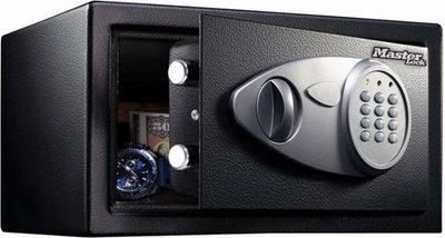 MasterLock X041ML - Stalen Kluis – Met digitaal slot en sleutel - Te verankeren - 19,4x29x26,4 cm