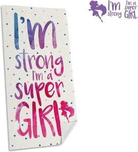 strandlaken i- Im strong I'm a super Girl!