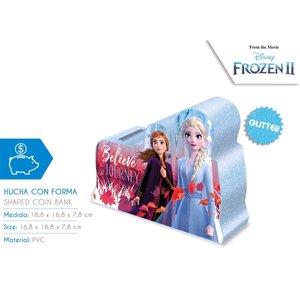 Frozen 2 glitter 3D spaarpot