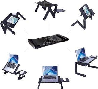 MikaMax - LaptopStandaard - Zwart