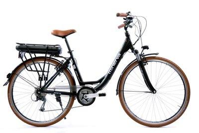 28 E-bike Minerva Estrel C-motor Alivio 9-speed Black D 49