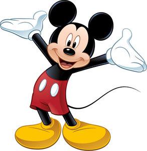 Mickey Mouse muursticker - RoomMates