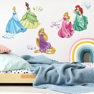 Disney prinsessen muurstickers - RoomMates - Debutantenbal