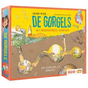 De gorgels - Het ondergrondse avontuur - kinderspel