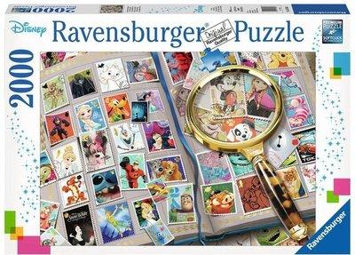 Ravensburger puzzel - Mijn mooiste  Disney postzegels -2000 stukjes