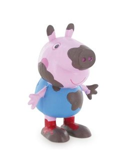 Peppa Pig - George on the mud - speelfiguur