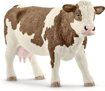 Schleich Farm world - Gevlekte Koe - 13801
